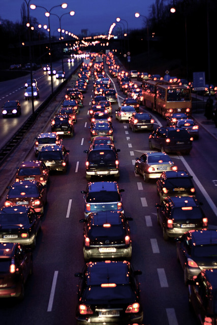 44 / traffic jam