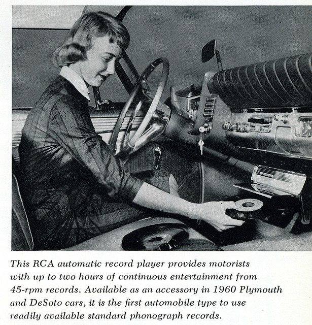 RCA Automatic Car Record Player