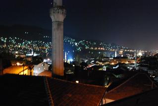 Sarajevo - city at night