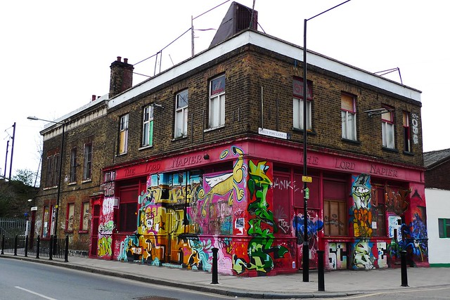 Lord Napier, Hackney Wick, E9