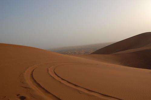 sunset sun sand dubai desert safari