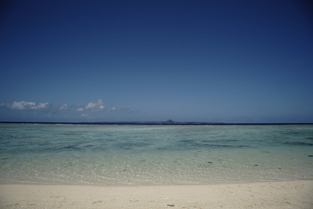 Sesoko beach and Ie Island
