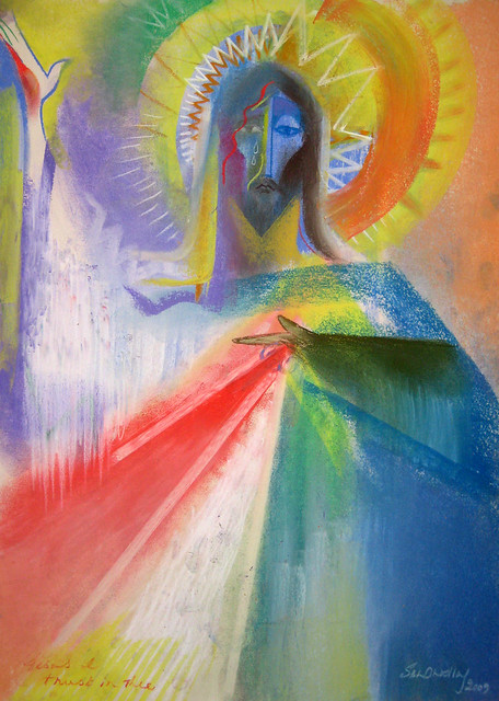 Feast Day of Divine Mercy. 2009 by Stephen B Whatley