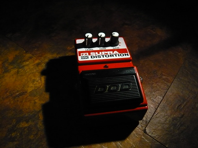 Photo:DOD Supra Distortion By Roadside Guitars