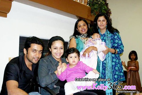 Actor Surya Jyothika Photos Actor Surya Jyothika Baby Diya