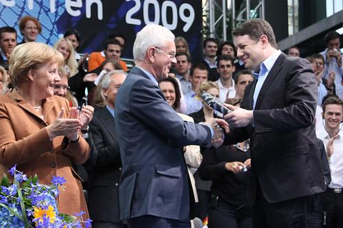 Philipp Mißfelder und Hans-Gert Pöttering