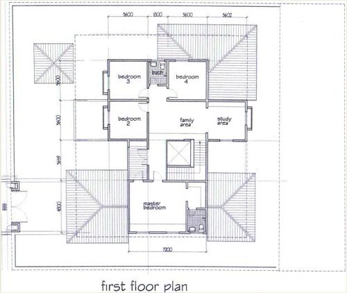 Plan Rumah - Tingkat 1 | Flickr - Photo Sharing!