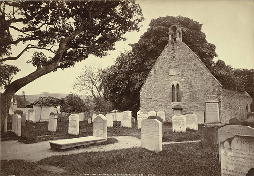 Alloway Kirk and Burial Place of Burns's Family