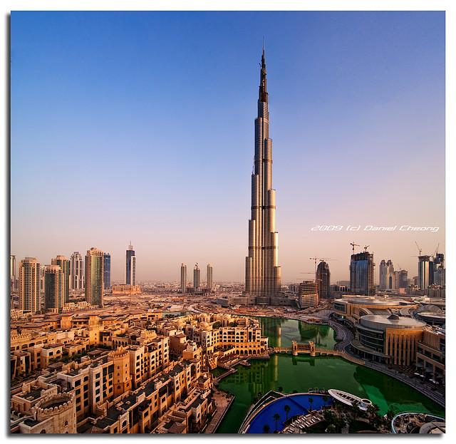 Burj Dubai : 6h11 am