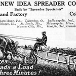 Horse-Drawn Manure Spreader