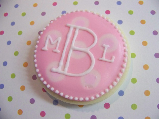 Monogram for Baby Girl