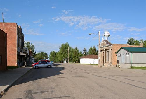 road downtown streetscene northdakota portal
