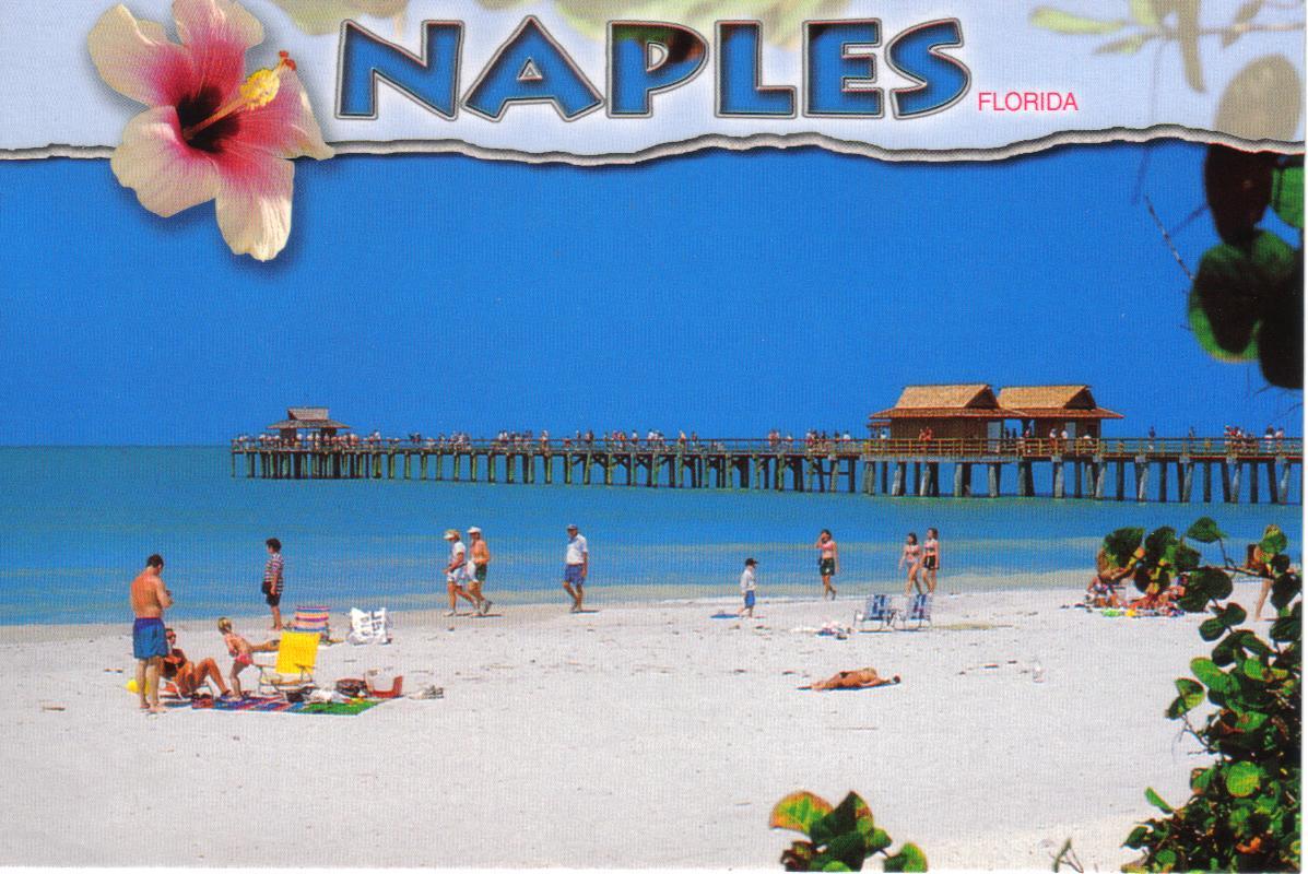 Naples Florida Beach Postcard Available A Photo On Flickriver - Florida naples
