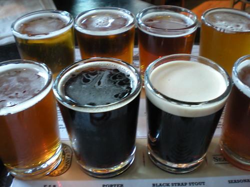 Bridgeport Brewery sample