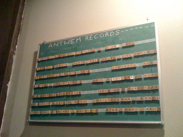 Header of Anthem Records