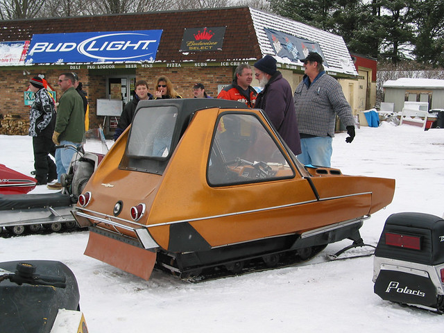 Two Seater Snowmobile From The 70s Flickr Photo Sharing
