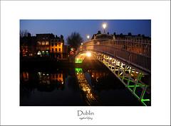 Dublin, a city of bridges, flowers, and pubs