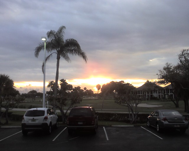 Sunset in Florida
