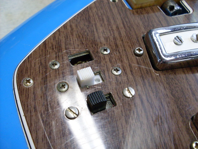 Photo:Pickup Switching on Del Ray EV-3T By Roadside Guitars