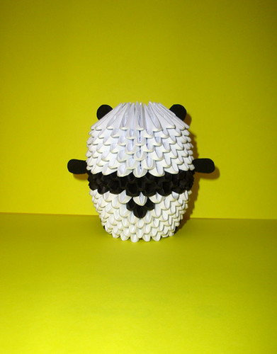 Origami Panda Bear  U00ab Embroidery  U0026 Origami