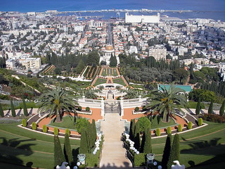Bahai palace at Haifa