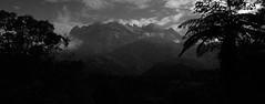 Mount Kinabalu BW