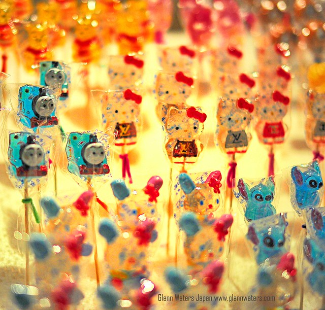Candy on a Stick.  (Hirosaki Japan). © Glenn Waters.  11,700 visits to this photo. Thank you.