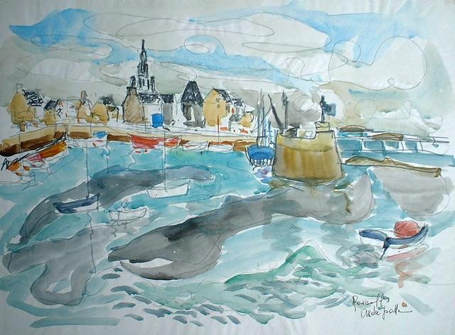 Roscoff - André Patte - Peintre