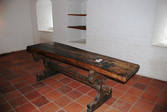 floor, bench, furniture, wood, coffee table, room, table, hardwood, antique, flooring,