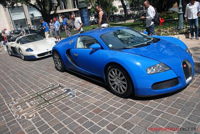 MC12 + Veyron = Sex on wheels