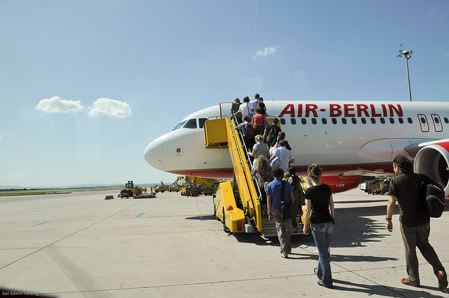 Air Berlin, Vienna to Rome