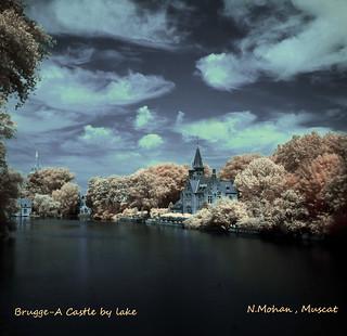 BRUGGE CASTLE NEAR LAKE Clr