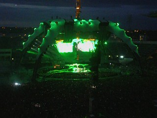 U2 Live in Dublin( The Last Night)Sunday Bloody Sunday