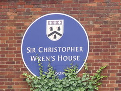 Photo of Christopher Wren blue plaque