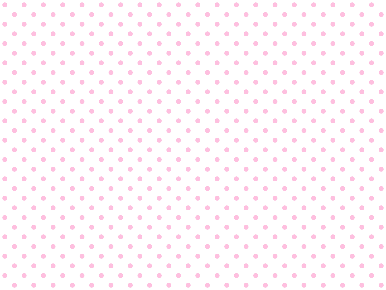 Polka-dotted background for twitter or other (Pink