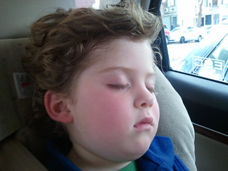 Sleeping almost 3 year old! Lloyd Hans Connelly I.