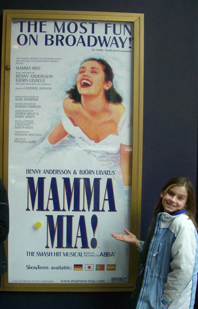 Logan at Mama Mia Nov 2007