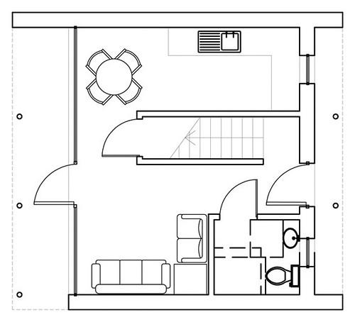 conversion floor garage plan home plans home design