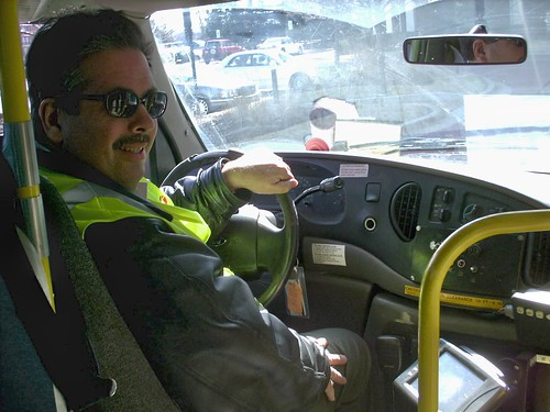 Eddie K in training as a Paratransit Driver. Niles Illinois. March 2008. by Eddie from Chicago