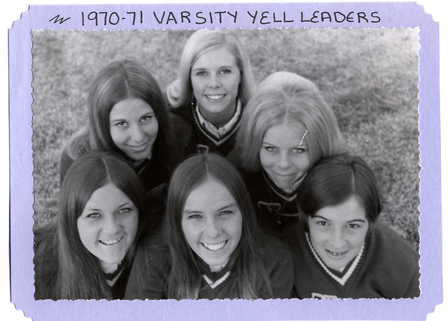 1970-71 Yell Leaders, Norwalk High