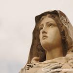 Statue at Public Cemetery - Xela, Guatemala