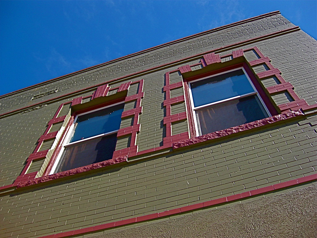 Two Story Italianate Commercial Style in Denver by MidiMacMan