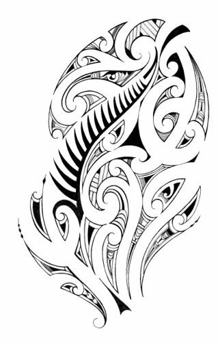 Maori Kiwi Tattoo: Kiwi Tribal Tattoo