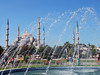 Sultanahmet Mosque through the water