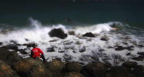 ocean bay san francisco rocks surf waves pacific geoff rocky lifeguard surfing shore quinn geoffrey aplusphoto lifguards surfger lifeguardfortbakersanfranciscobaygeoffgeoffreyquinn