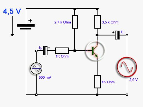 transistor verst rker schaltung flickr photo sharing. Black Bedroom Furniture Sets. Home Design Ideas