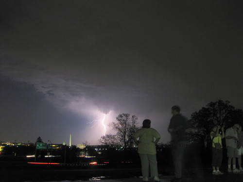 Lightning Storm Over DC - Zing!