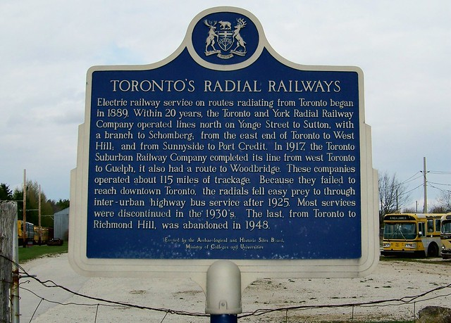 Toronto's Radial Railways