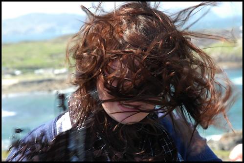 A bit windy like
