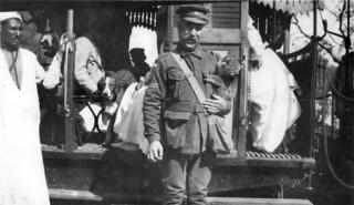 A koala in Cairo, 1915
